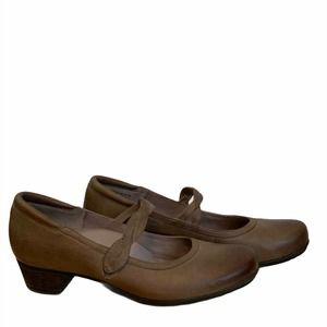 Abeo BIO System Marisol Mary Janes Taupe Size 8N
